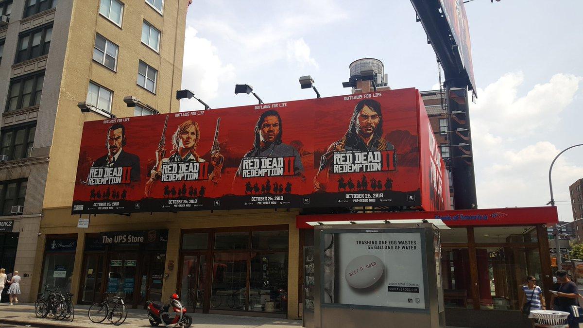 Red Dead Redemption 2 publicidad