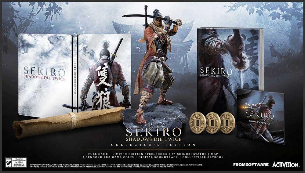 Sekiro Shadows Die Twice Edición Coleccionista