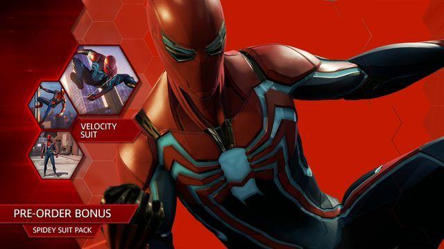 Spider-Man PS4 - Velocity Suit