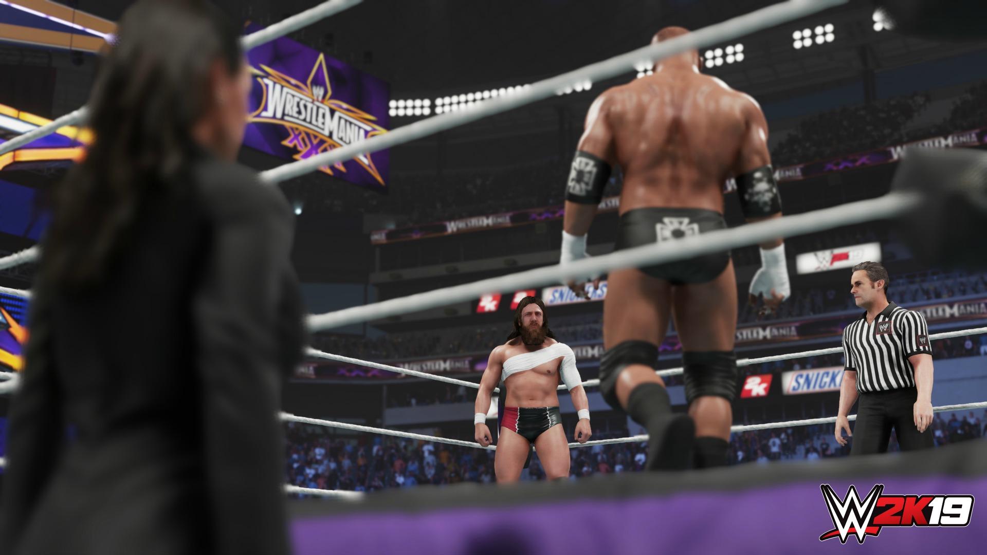 WWE 2K19 - Modo 2K Showcase con Daniel Bryan