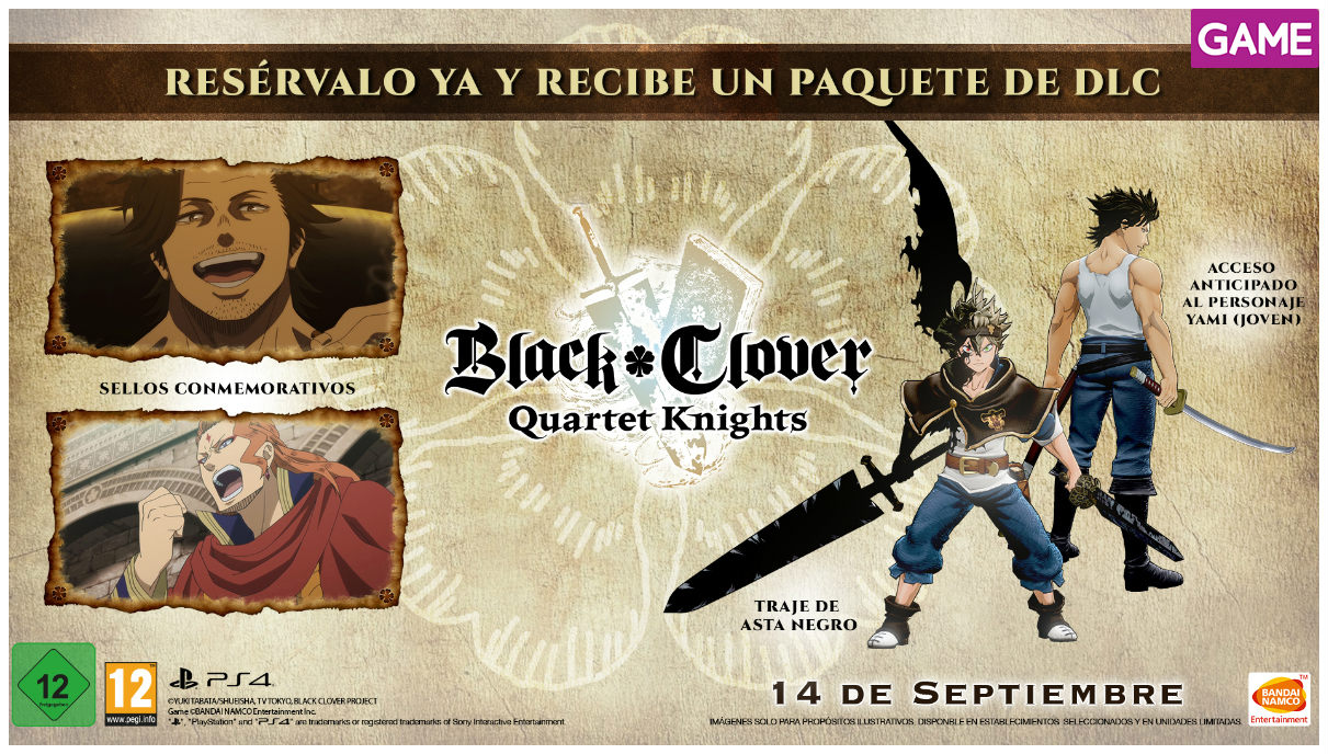 black cover quartet knights game