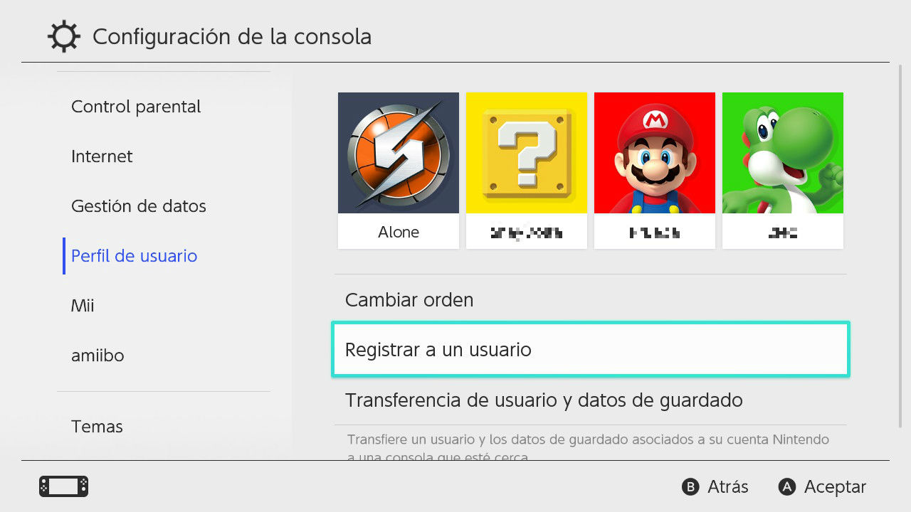Compartir juegos nintendo Switch