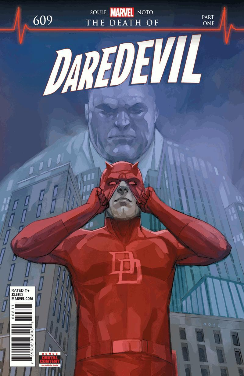 The Death of Daredevil Marvel