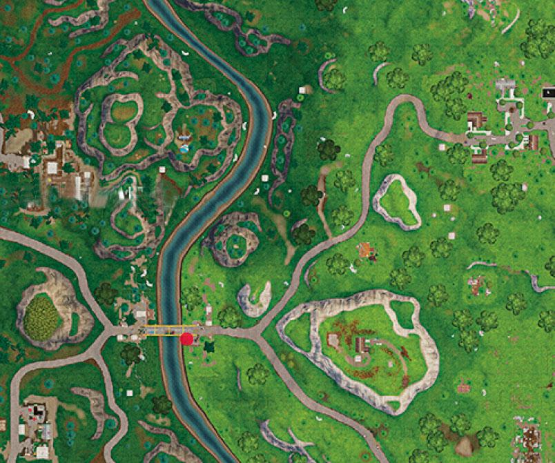 Desafio viaje por carretera semana 9 mapa