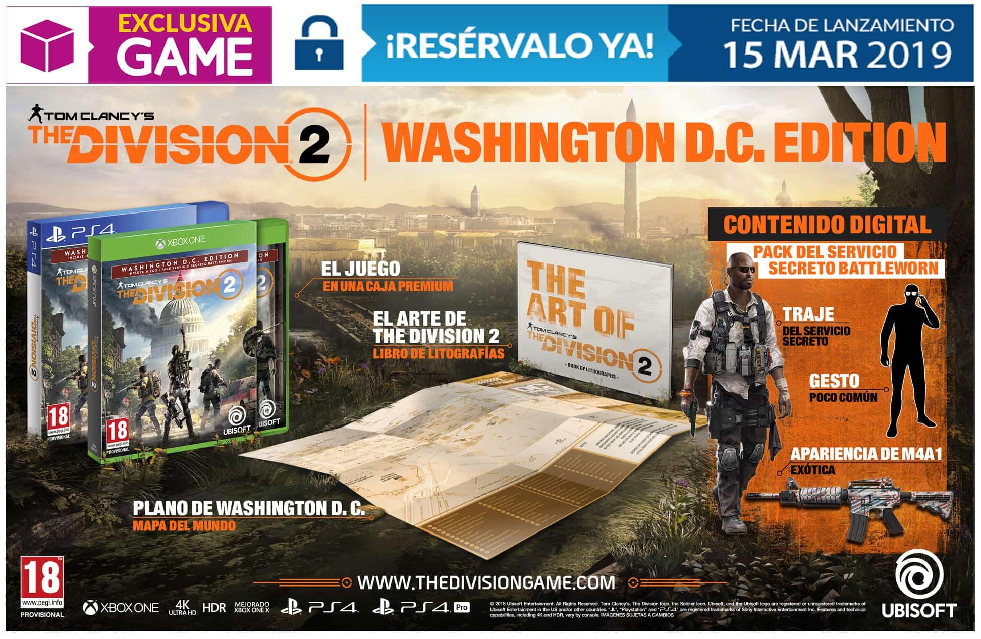 The Division 2 Ediciones GAME