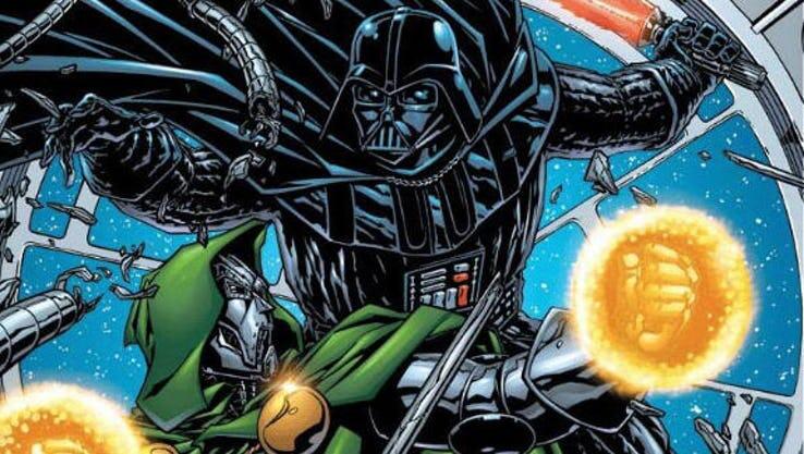 Doctor Doom y Darth Vader