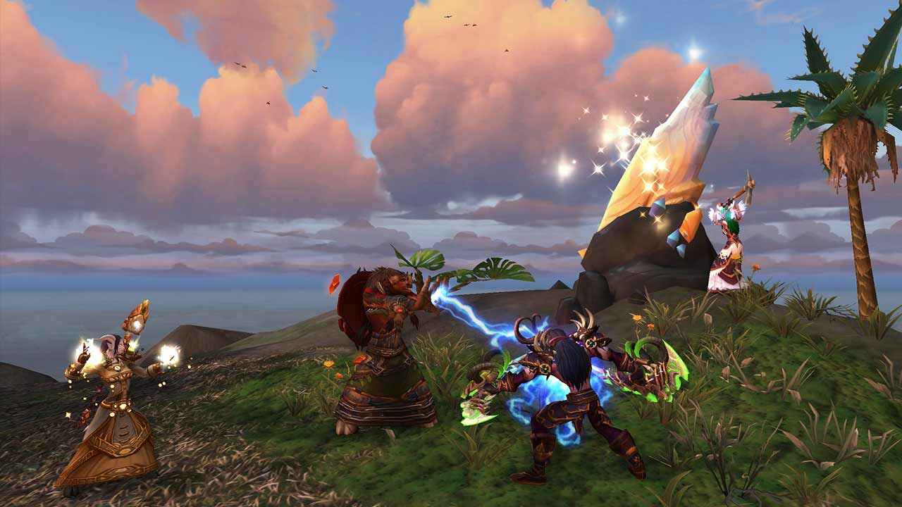Expedición insular World of Warcraft