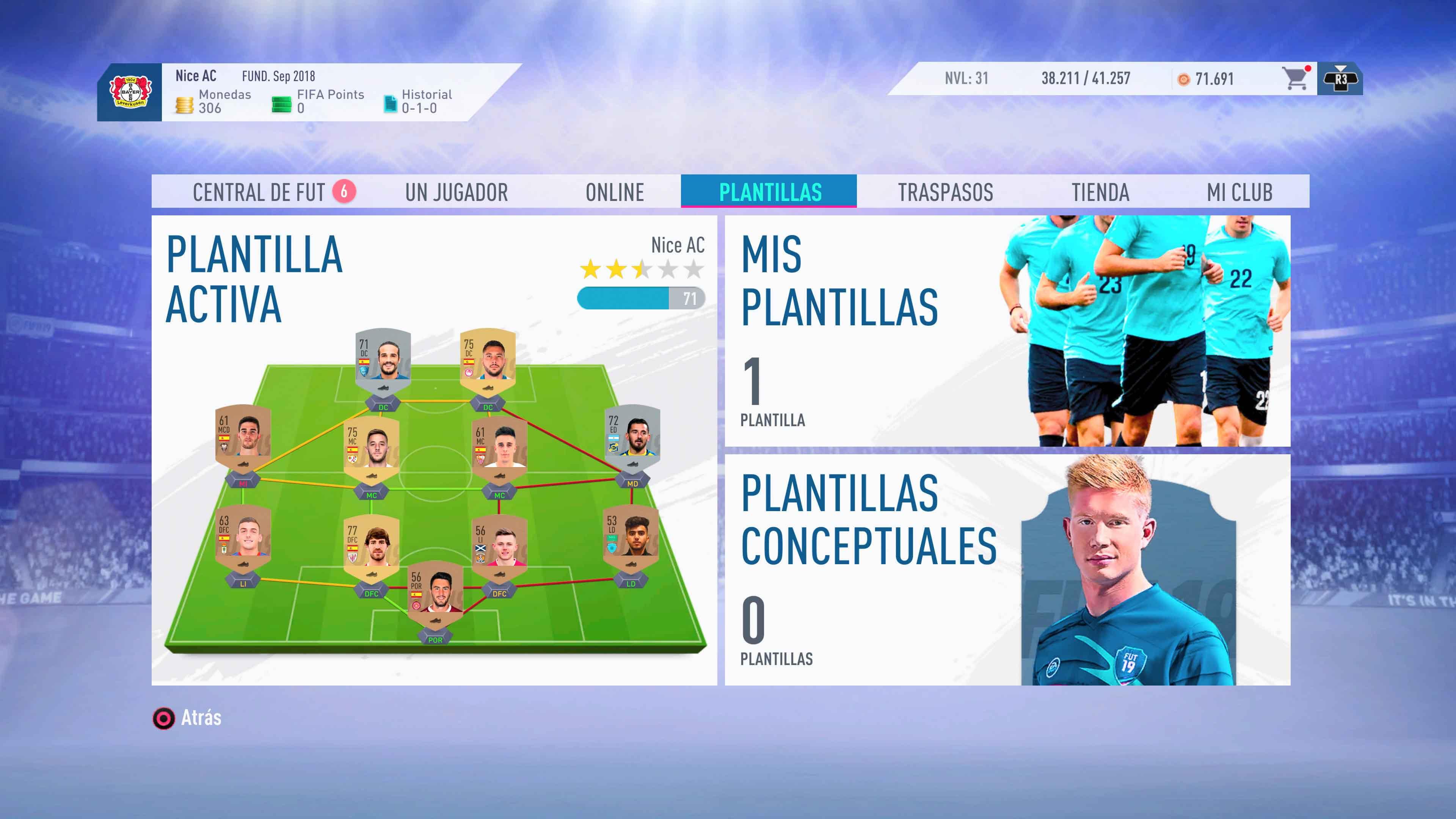 FIFA 19 Ultimate Team
