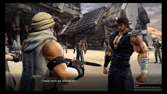 Fist of the north star lost paradise 3