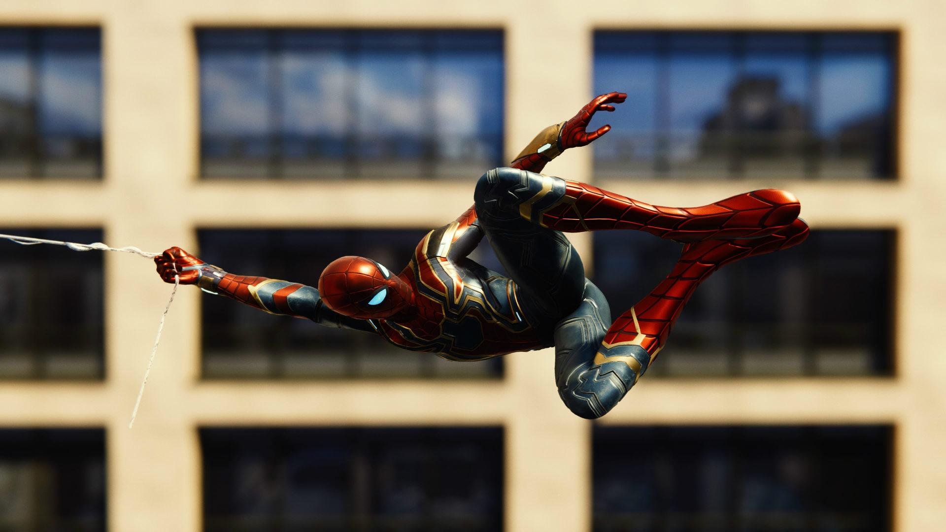 Spiderman PS4 modo foto