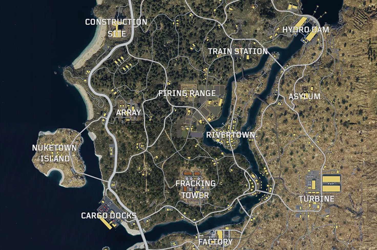 Mapa de Blackout