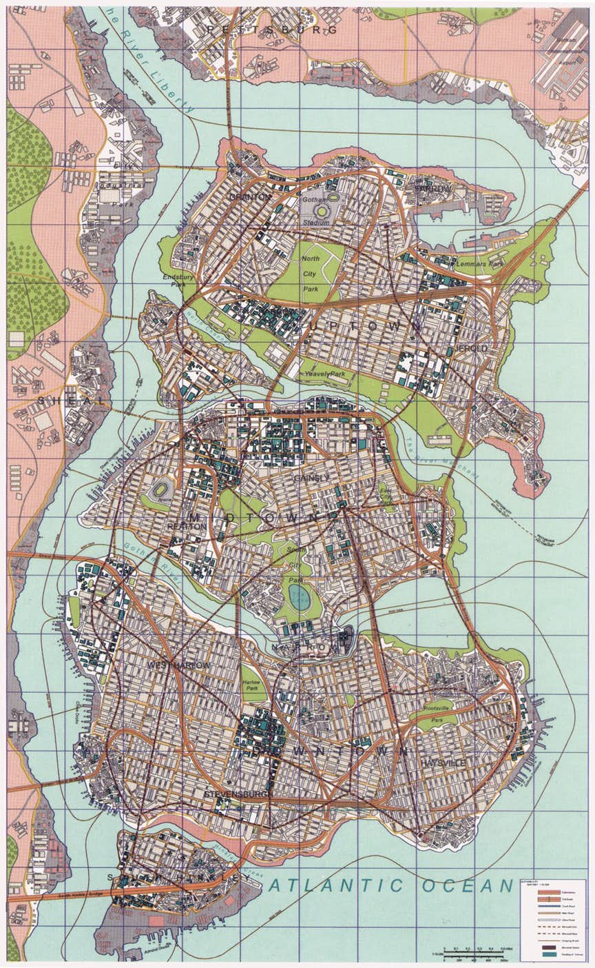 Mapa Nolan