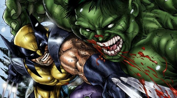 Marvel Lobezno y Hulk