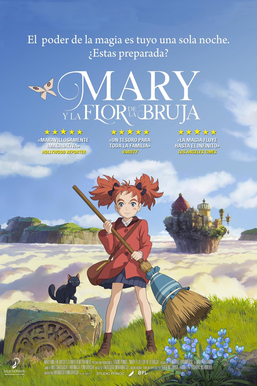 MARY Y LA FLOR DE LA HECHICERA (2017)[1080p BRrip] [Latino-Inglés] [GoogleDrive]