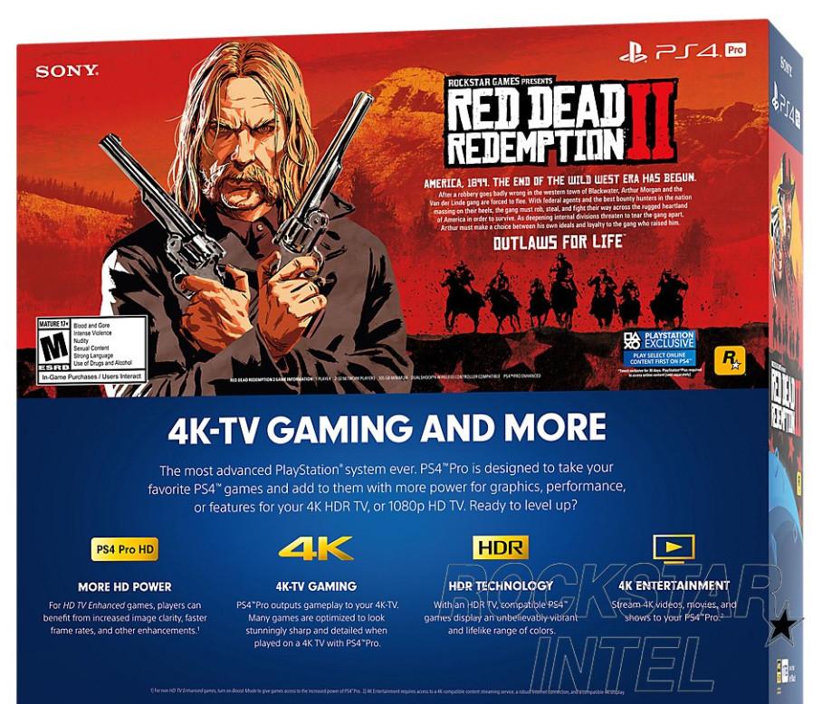 Red Dead Redemption 2 Necesitará 105 GB De Espacio En PS4