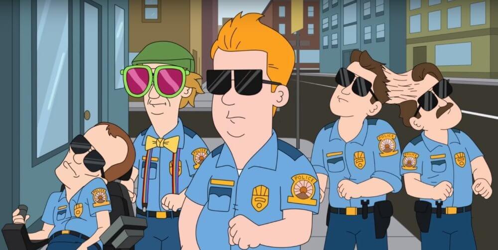 Paradise Police en Netflix