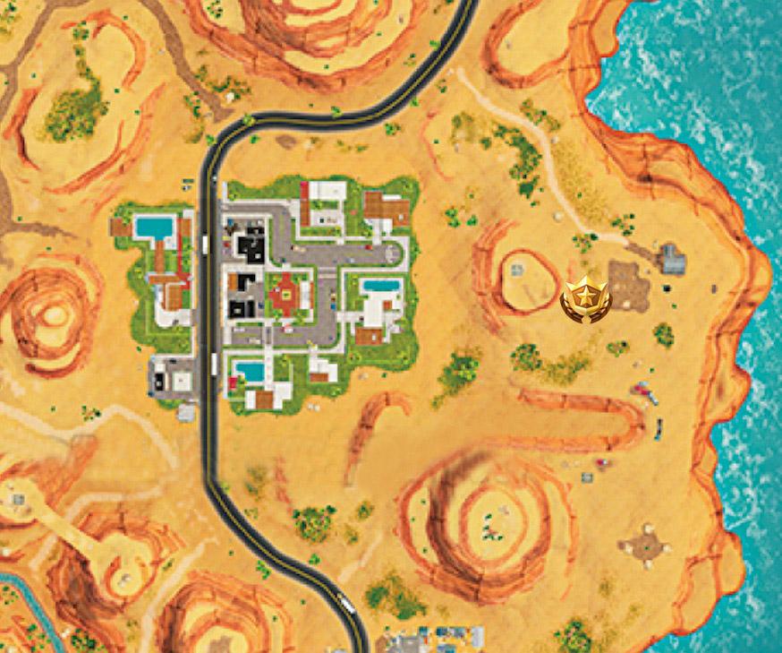 Partida de caza de la semana 1 mapa