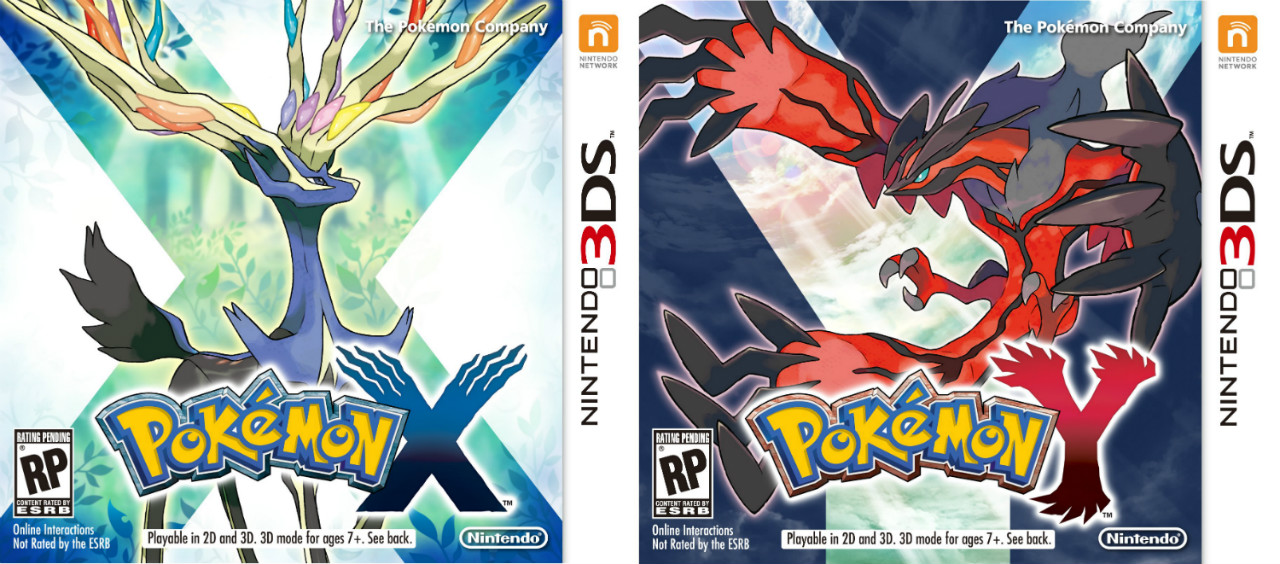 pokemon x e y
