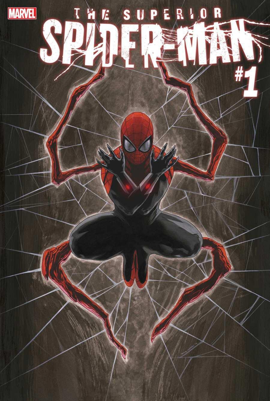 Portada del primer número de Superior Spider-Man