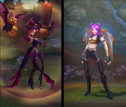 Skins Harrowing League of Legends