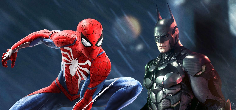 Spider-Man PS4 Vs Batman Arkham