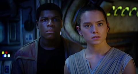 Star Wars - Finn y Rey