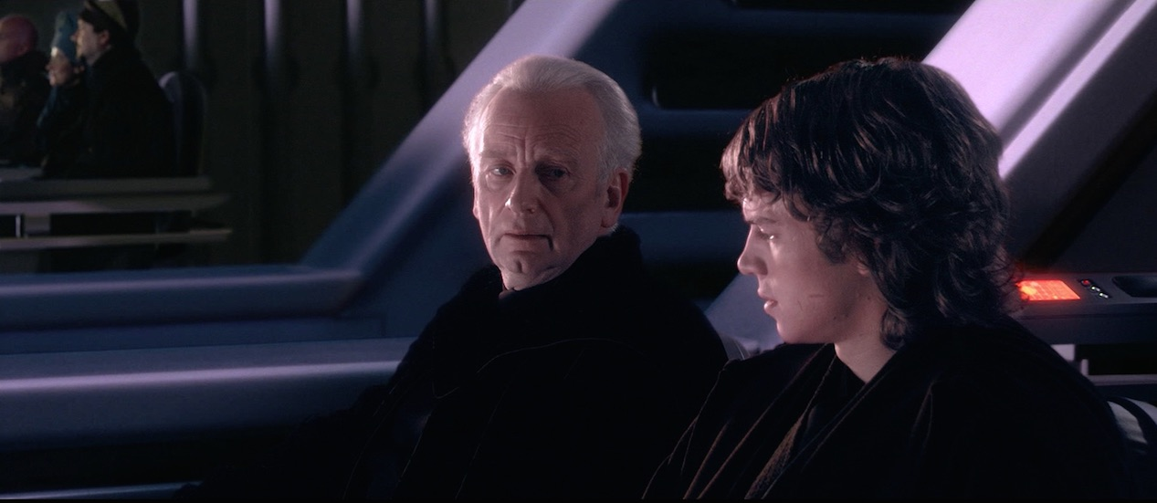 Star Wars - Palpatine y Anakin