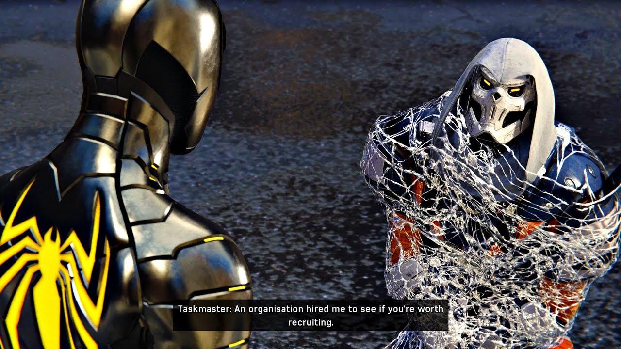 Taskmaster Spiderman PS4