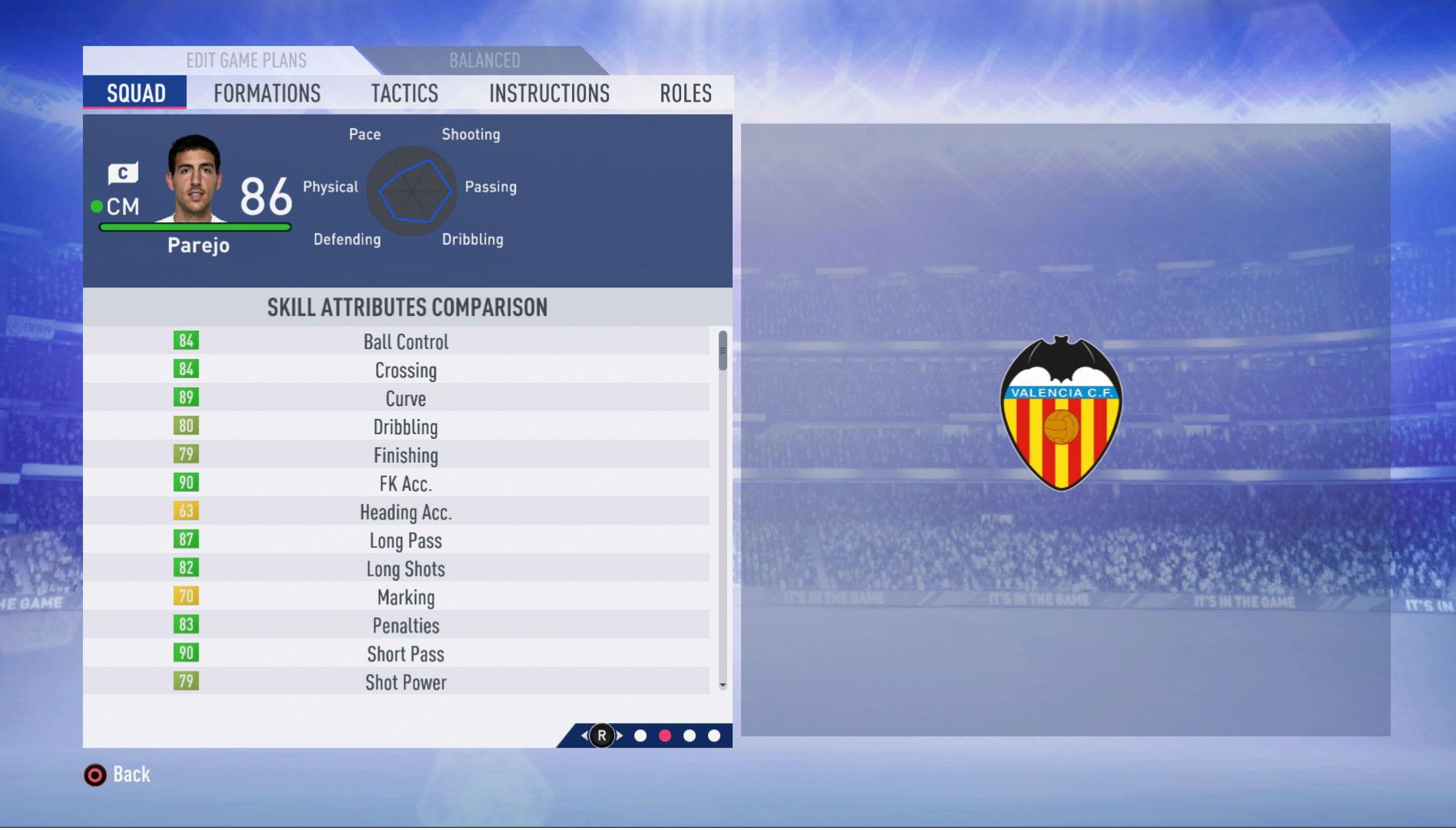 Tiradores de falta en FIFA 19