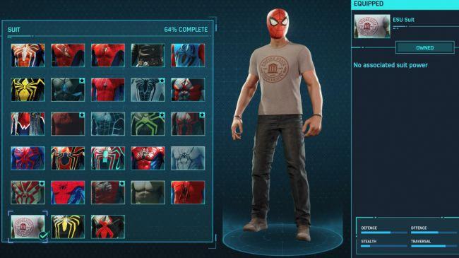 Trajes Spider-Man