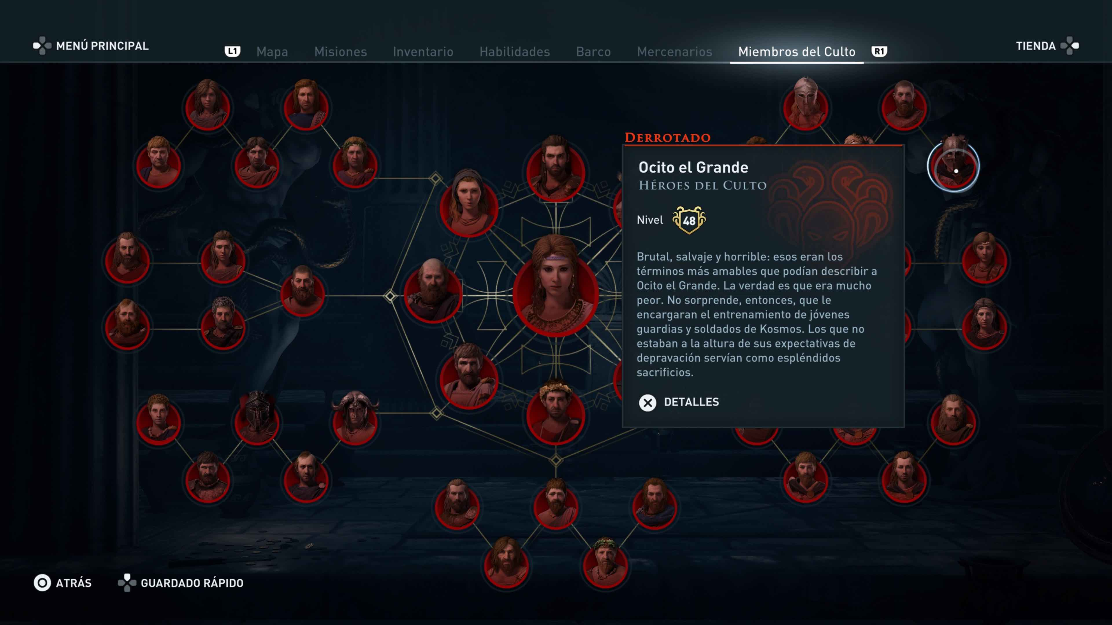 Assassin's Creed Odyssey Culto Kosmos
