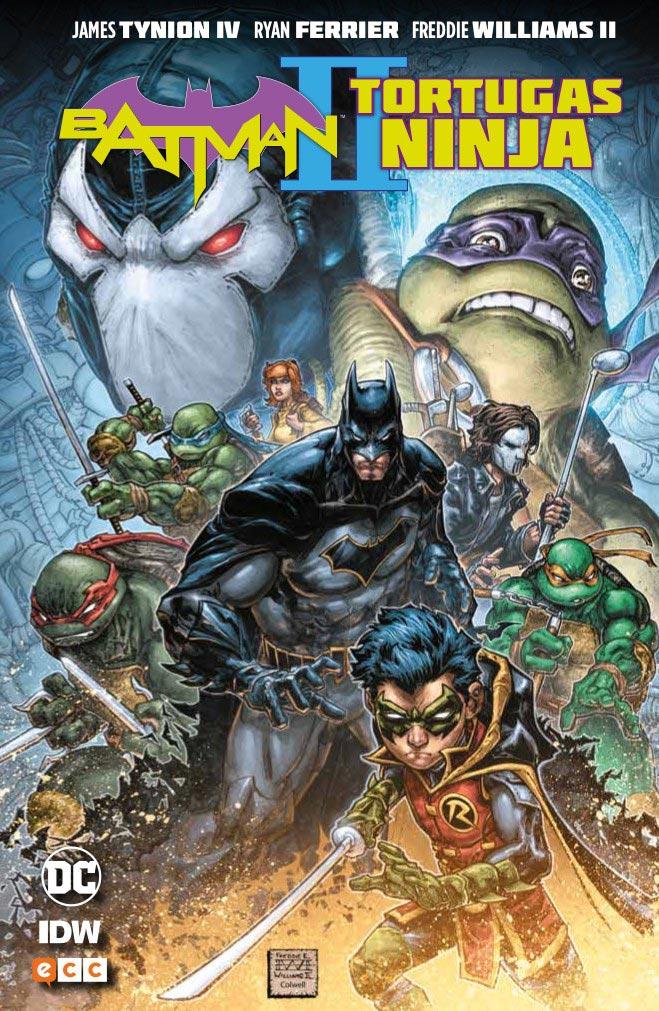 Batman y Tortugas Ninja II