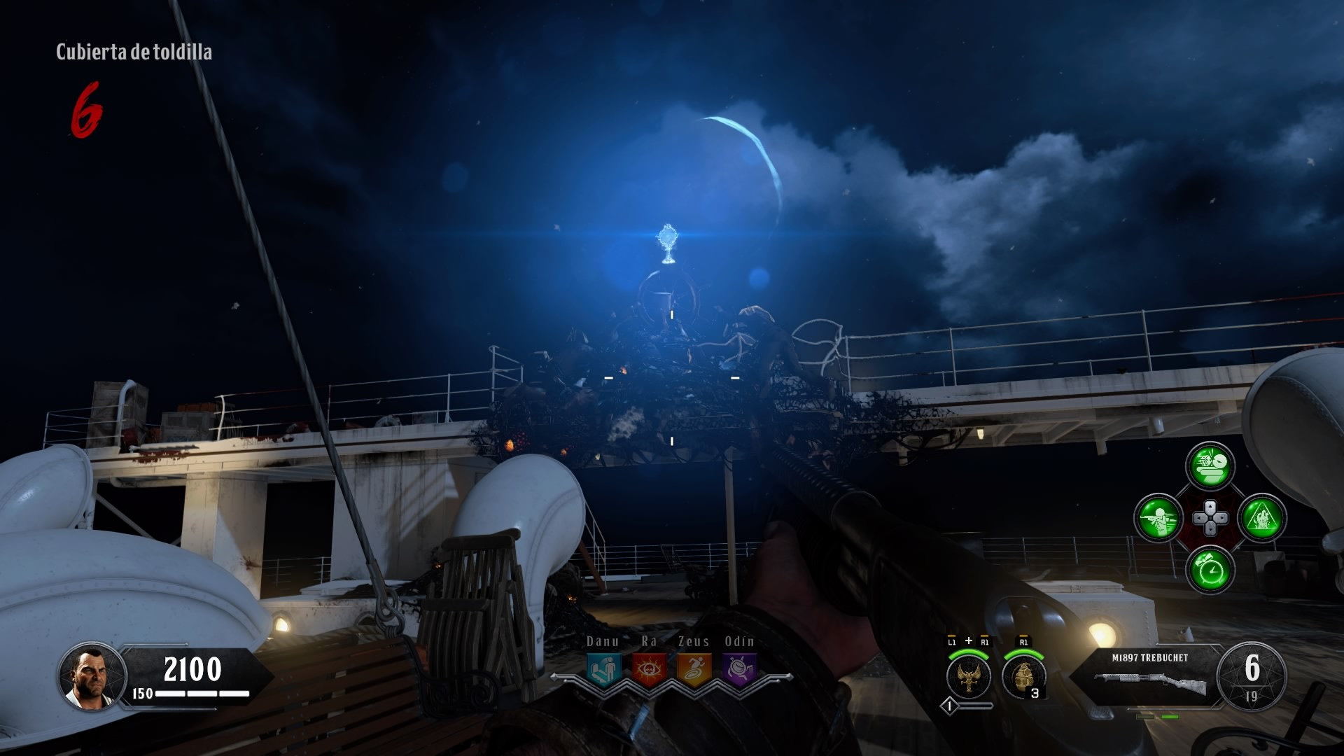 black ops iiii, titanic, máquina de mejora, potenciadora,