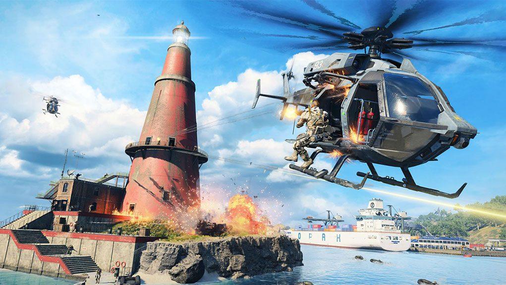 Dónde encontrar helicópteros en todas las partidas del modo Blackout de Black Ops IIII