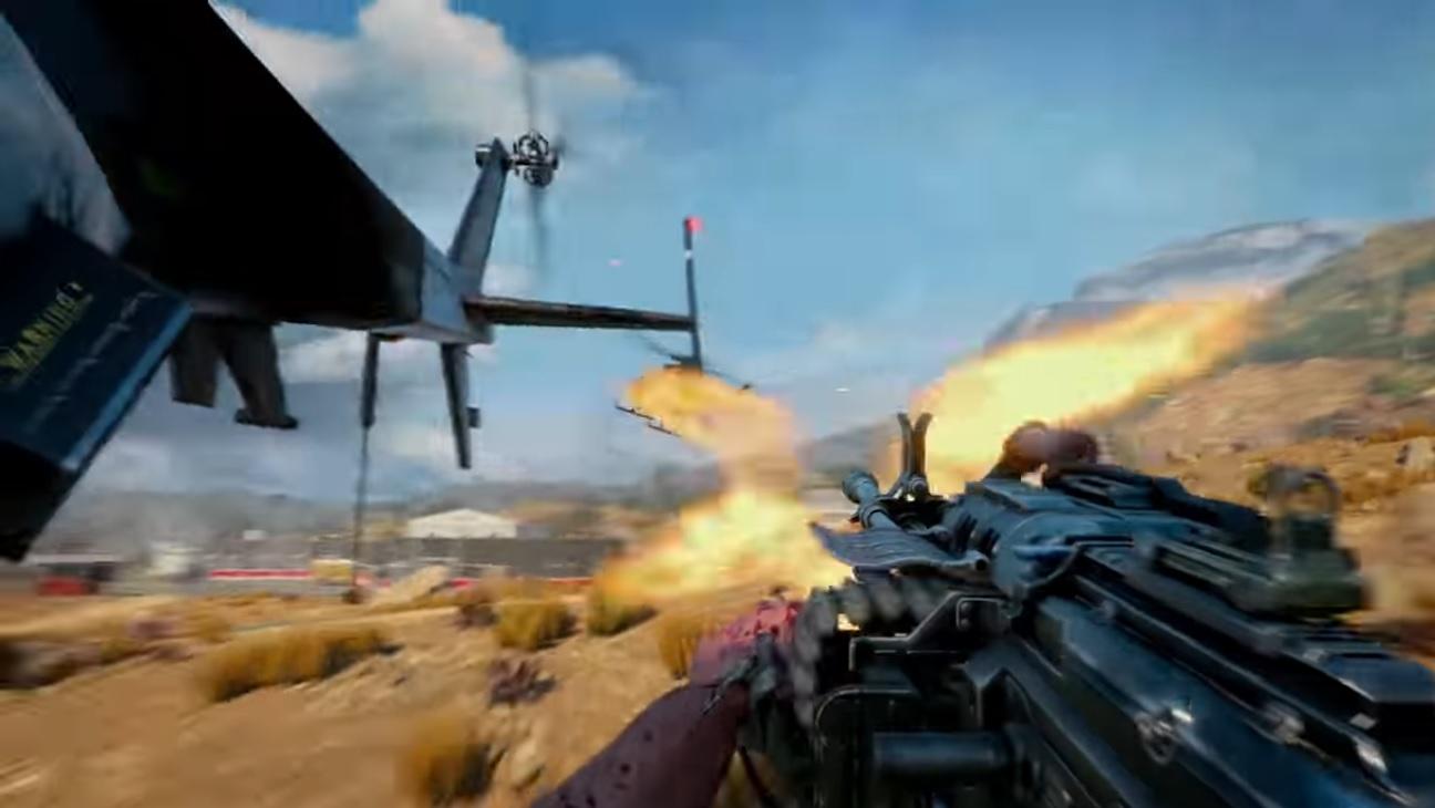 Call of Duty Black Ops IIII Blackout - Helicópteros