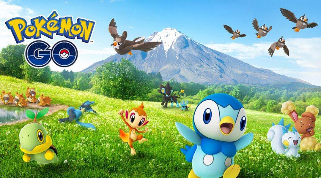 Cuarta generación en Pokémon GO