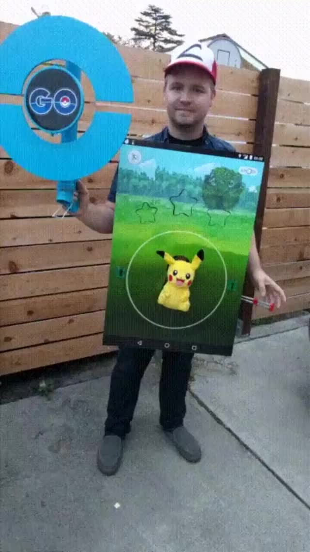 disfraz Pokemon Go