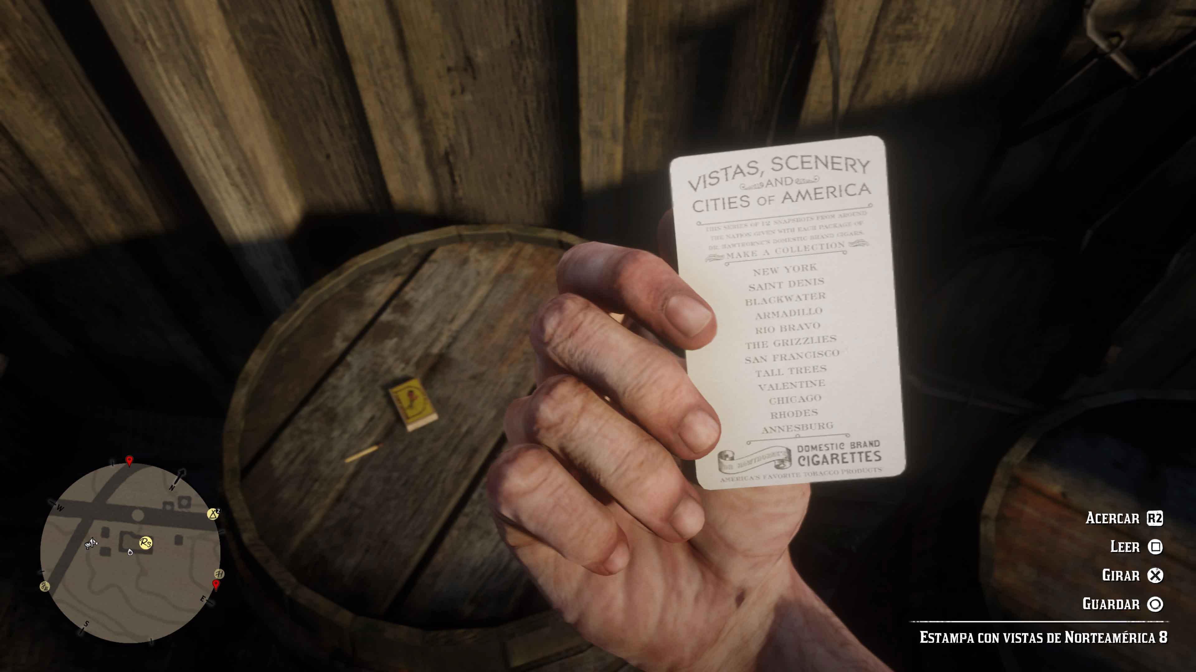 Estampas Red Dead Redemption 2