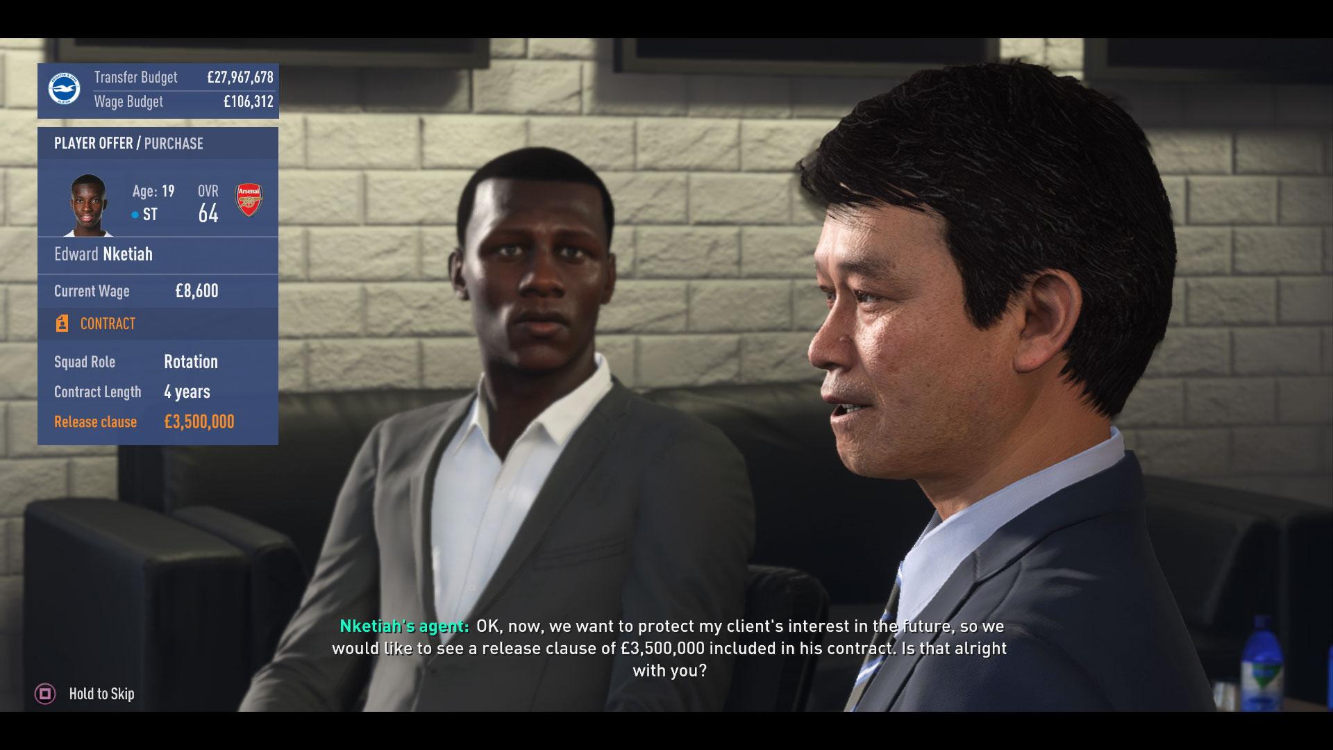FIFA 19 modo carrera