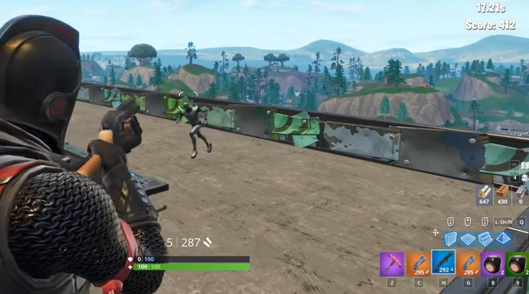 Fortnite Battle Royale - Campo de Tiro Patio de Juegos