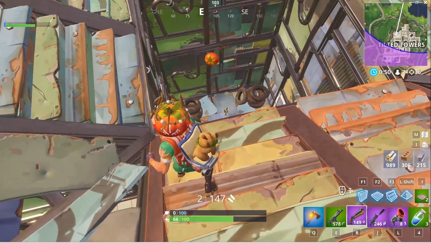 Fortnite lanza tomate