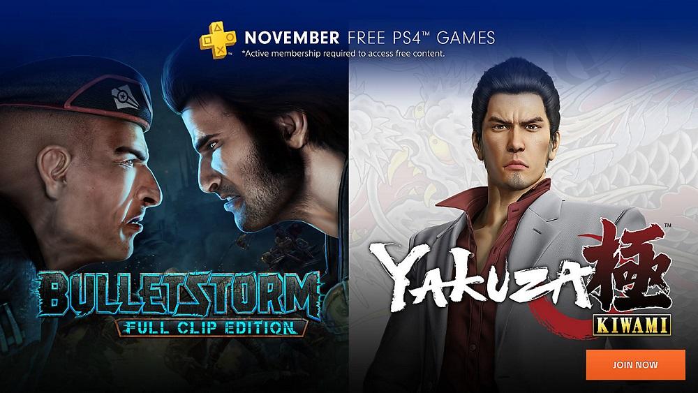 juegos gratis ps plus noviembre PS4