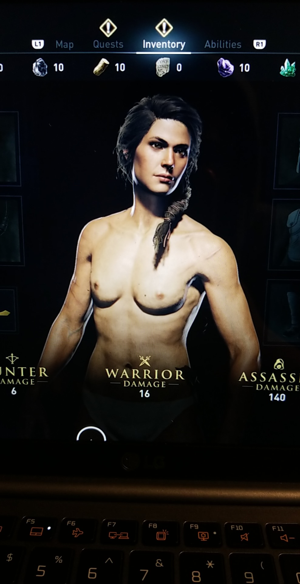 Kassandra desnuda Assassins Creed Odyssey