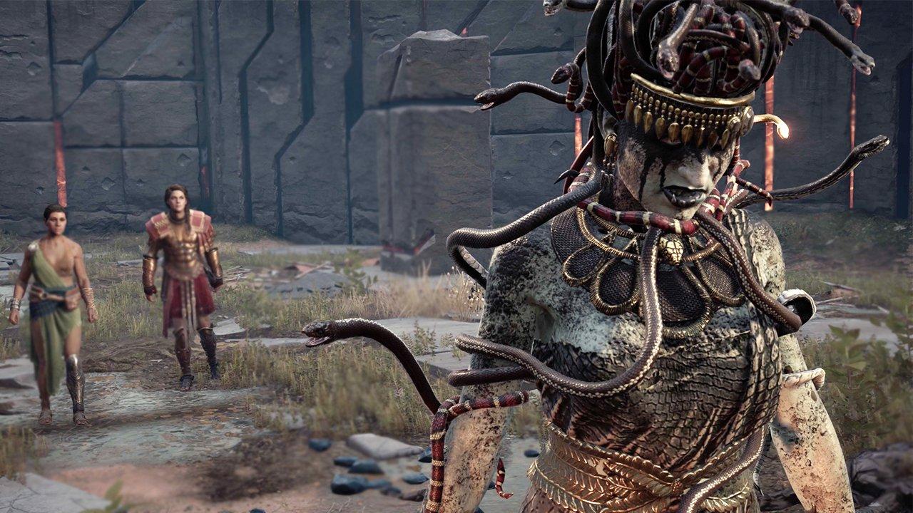 Cómo encontrar y vencer a Medusa, Minotauro, Cíclope y Esfinge en Assassin's Creed Odyssey