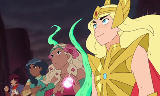 Nueva serie de animación de Netflix She-Ra and the Princesses of Power