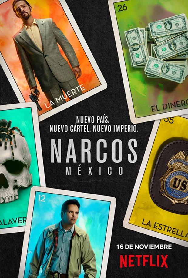 Nuevo póster promocional de Narcos: México