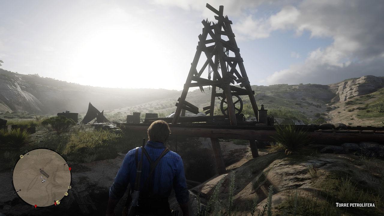 Puntos de interés y chozas en Red Dead Redemption 2: dónde encontrarlos todos