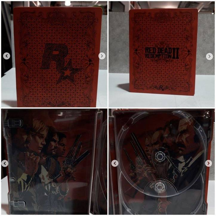 Red Dead Redemption 2 - Caja metálica