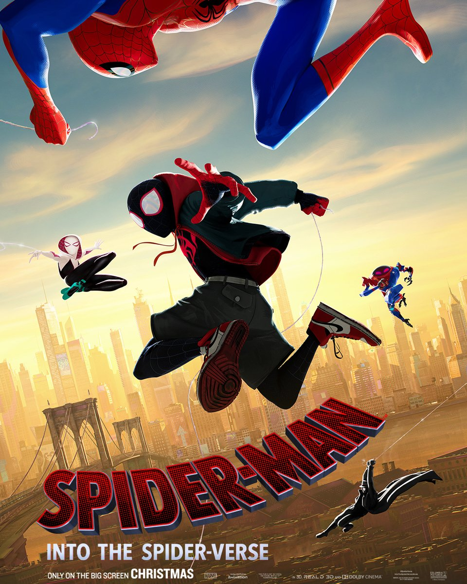 Spider-Man: Un nuevo universo póster