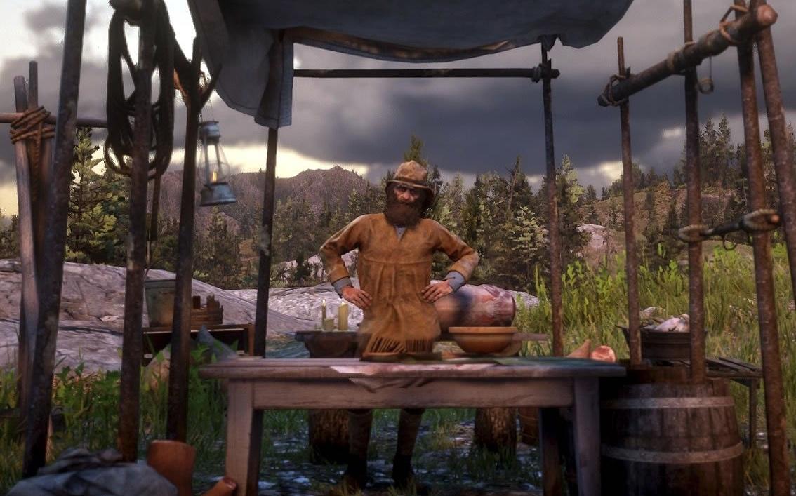 ¿Dónde encontrar al trampero en Red Dead Redemption 2?